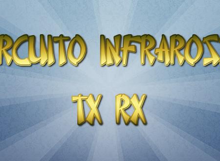 Circuito con Diodi Infrarossi TX E RX