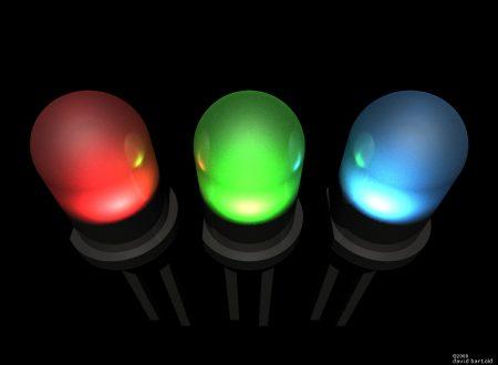 Riconoscere polarità diodo LED
